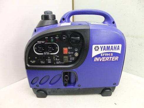 ヤマハ 防音型インバータ発電機 EF9HiS 高価買取致しました。