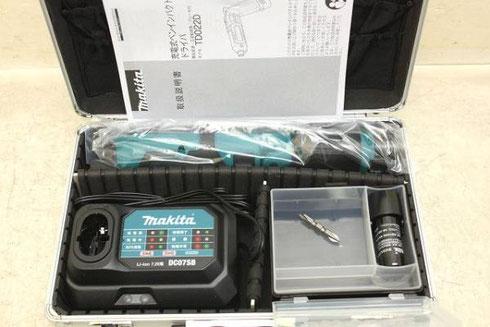 マキタ 充電式ペンインパクトドライバ TD022DSHX