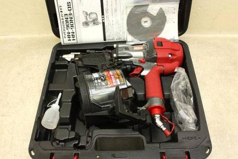 MAX 高圧釘打機 スーパーネイラ HN-90N3高価買取致しました。