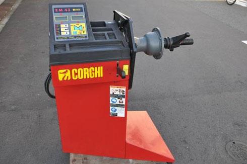 自動車工具コーギー社 ホイールバランサー EM43高価買取致しました。