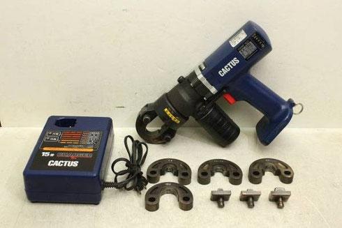 カクタス 圧着工具 クリンプボーイ EV-150高価買取致しました。