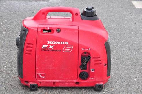 ホンダ サイクロコンバーター発電機 EX6高価買取致します。