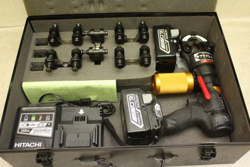 充電式圧着工具-NC-AUX250J