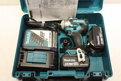 マキタ 充電式インパクトレンチ TW281DRGX