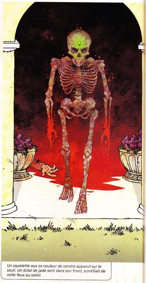 illustration : Dav pour ma nouvelle éditée dans Lanfeust Mag.