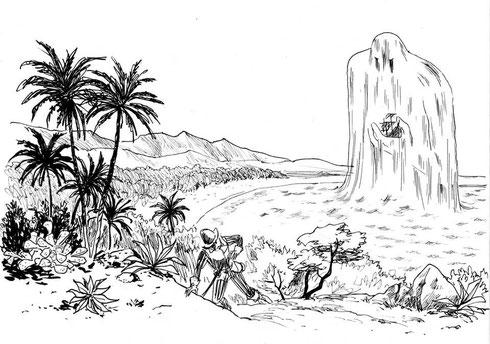 1 dessin d'Elric Dufau pour faire rêver ou cauchemarder.
