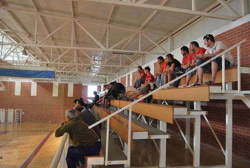 polideportivo de Valtierra