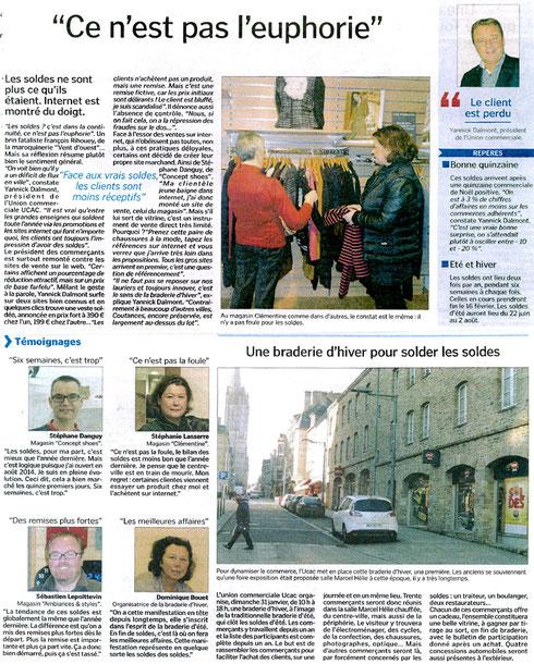 La Manche Libre, 25/01/2016