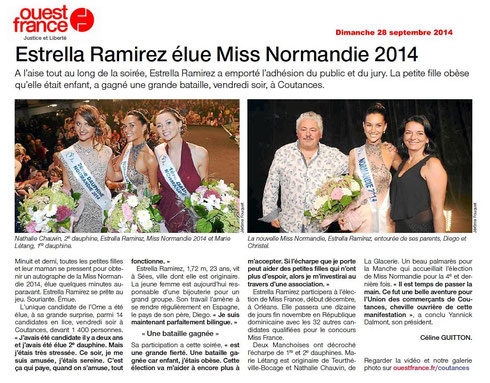 OuestFrance, 28/09/2014