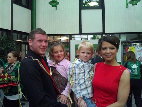 Prinzenpaar und Kinderprinzenpaar 2012