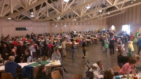 Kinderfasching in der Stadthalle Pocking