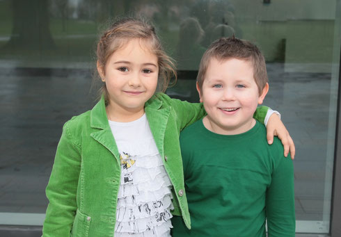 2014 Kinderprinzenpaar Anna-Maria I. & Julian-Alexander I.
