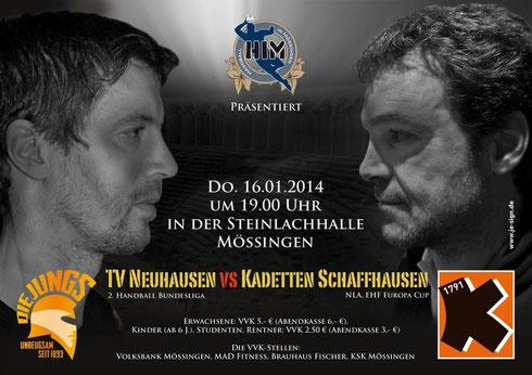 TV Neuhausen vs. Kadetten Schaffhausen