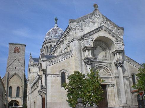 Heutige Basilika des heiligen Martin in Tours