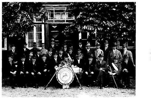 Bild 1929 mit erster Königsscheibe