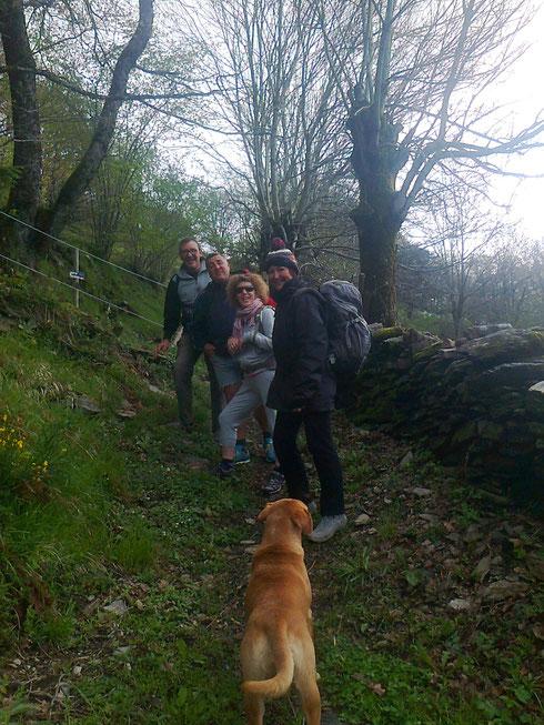 Super heureux de voir des pélerins revenir / La bande du Vaucluses et Savoie..! Géniaux