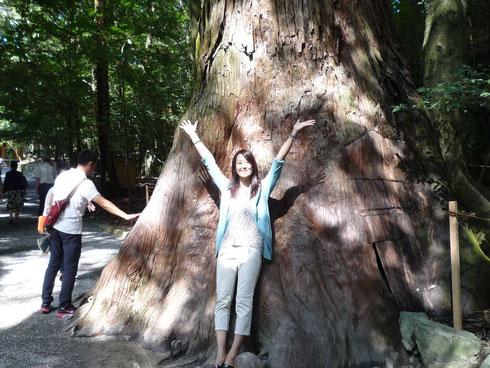 大木と一緒♪
