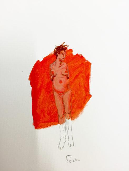 Dessins fusains site de charlotteperrinart for Peinture sur papier