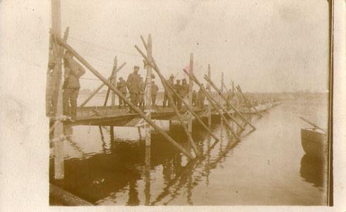 Dünaübergang 01.09.1917