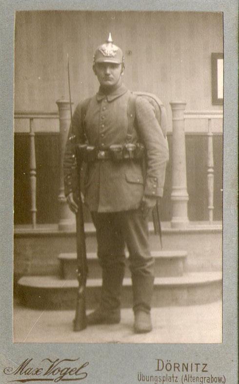 Heinrich Klaus, vermisst 1918