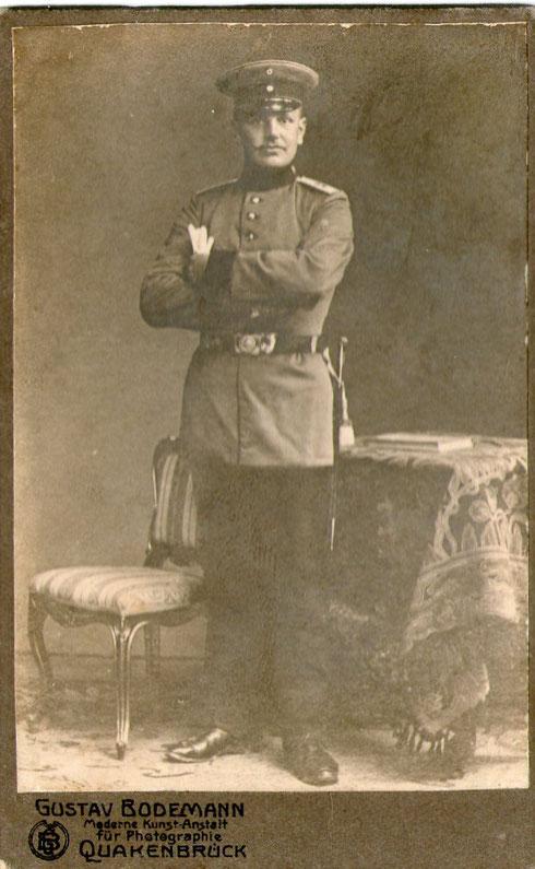 Hermann Klaus, gefallen 26.09.1914