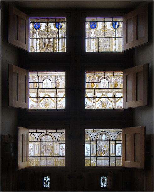 Peinture sur verre - Atelier Pascale B. Saumur