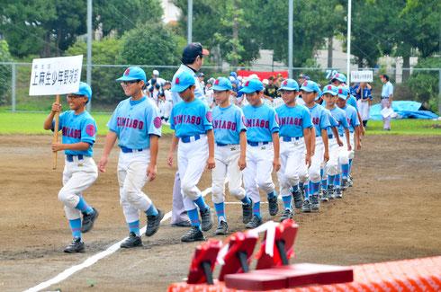 上麻生少年野球部 以上14チーム