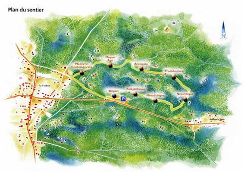 Plan du Sentier