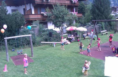 Spielplatz von Finkenberg
