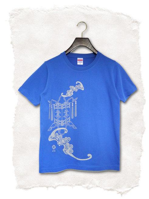 太極拳Tシャツコウモリ