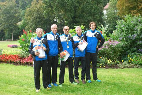 Rückblick: Die Athleten der LG Vulkaneifel bei den Deutschen 10 km Meisterschaften in Bad Liebenzell