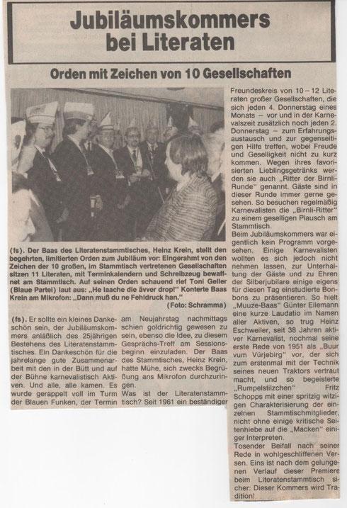 Kölner Wochenspiegel 8.1.1986