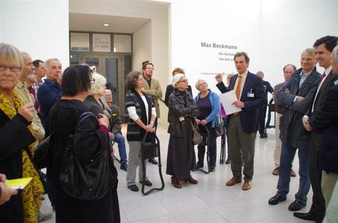 Kulturforum zu Gast in der Hamburger Kunsthalle bei Prof. Dr. Hubertus Gaßner und Dr. Stefan Brandt. Foto: Günther von der Kammer