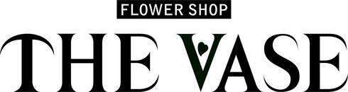THE VASE 英語のロゴ