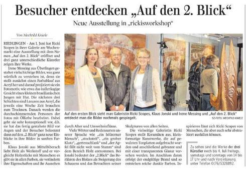 Auf den 2. Blick Schwäbische Zeitung