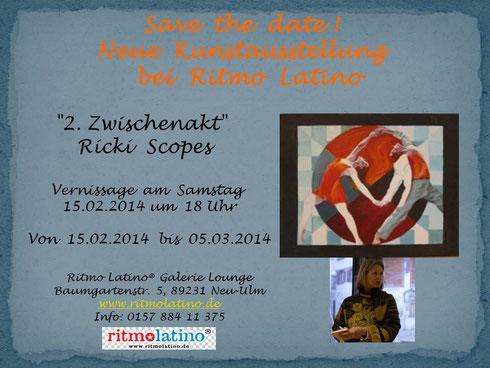 My next exhibition