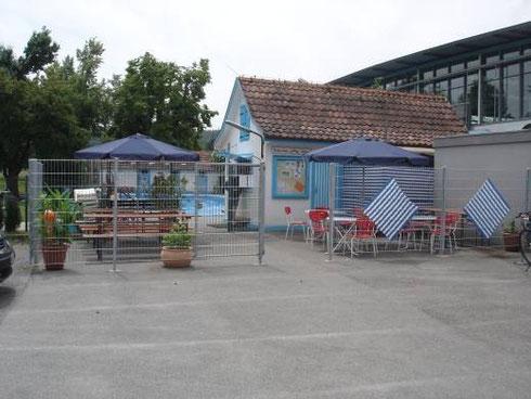 Der Kiosk des Bades