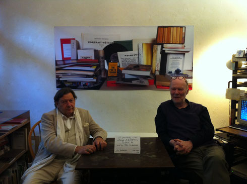Guy Schraenen and Jan Voss at Boekie Woekie