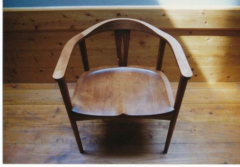 肘掛椅子 カバザクラ w620 d500 ah680 sh420