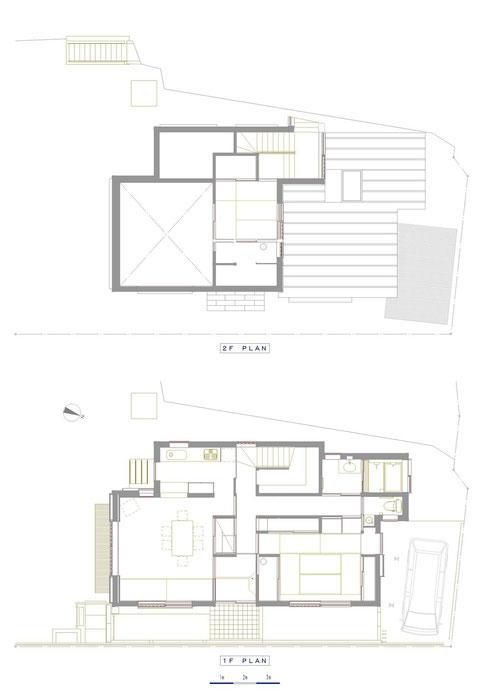 親世帯 1・2階 平面図