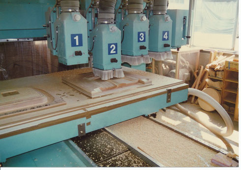 工作機械による 自動加工