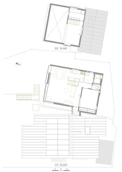 子世帯 1・2階 平面図