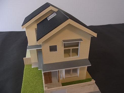 杉並の家 模型 S:1/50