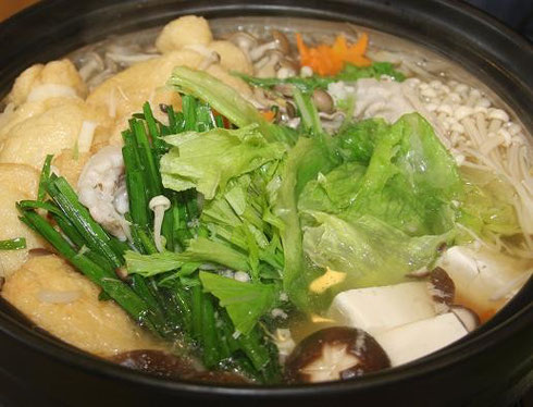 ふじみつ(奥出雲ポークのレタス鍋)↑