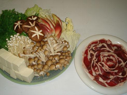 広島風 お好み焼き 鉄板焼 千両(牡丹鍋)↑