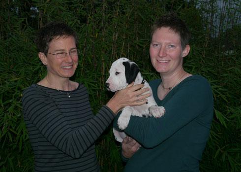 Unsere Frau Blau hatte die weiteste Reise und lebt nun in Rottendorf bei Würzburg