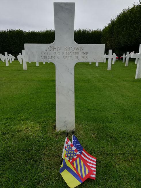 Tombe de John - John's grave