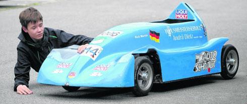 Rick Martin - Deutscher Meister 2014: Quelle: FP A. Seidel