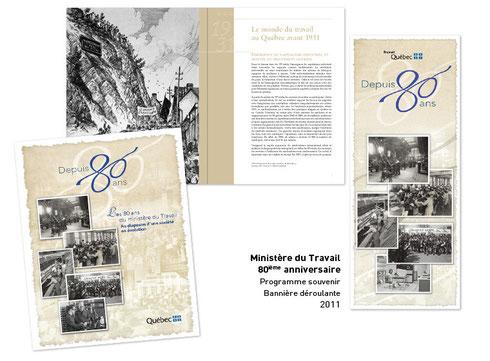 80ième anniversaire ministère du travail