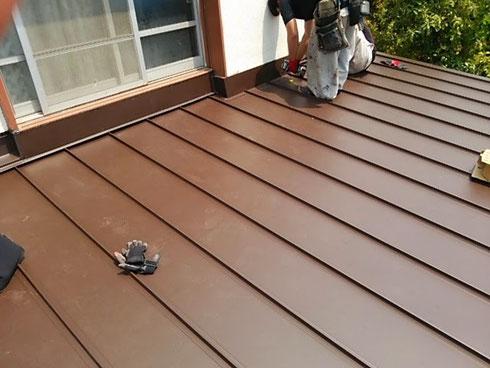 屋根 葺き替え 完了